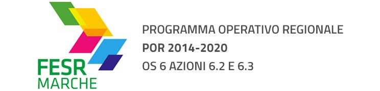 POR FESR 2014-20 OS 6 AZIONI 6.2 E 6.3